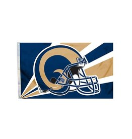 Los Angeles Rams 3x5' Polyester Flag
