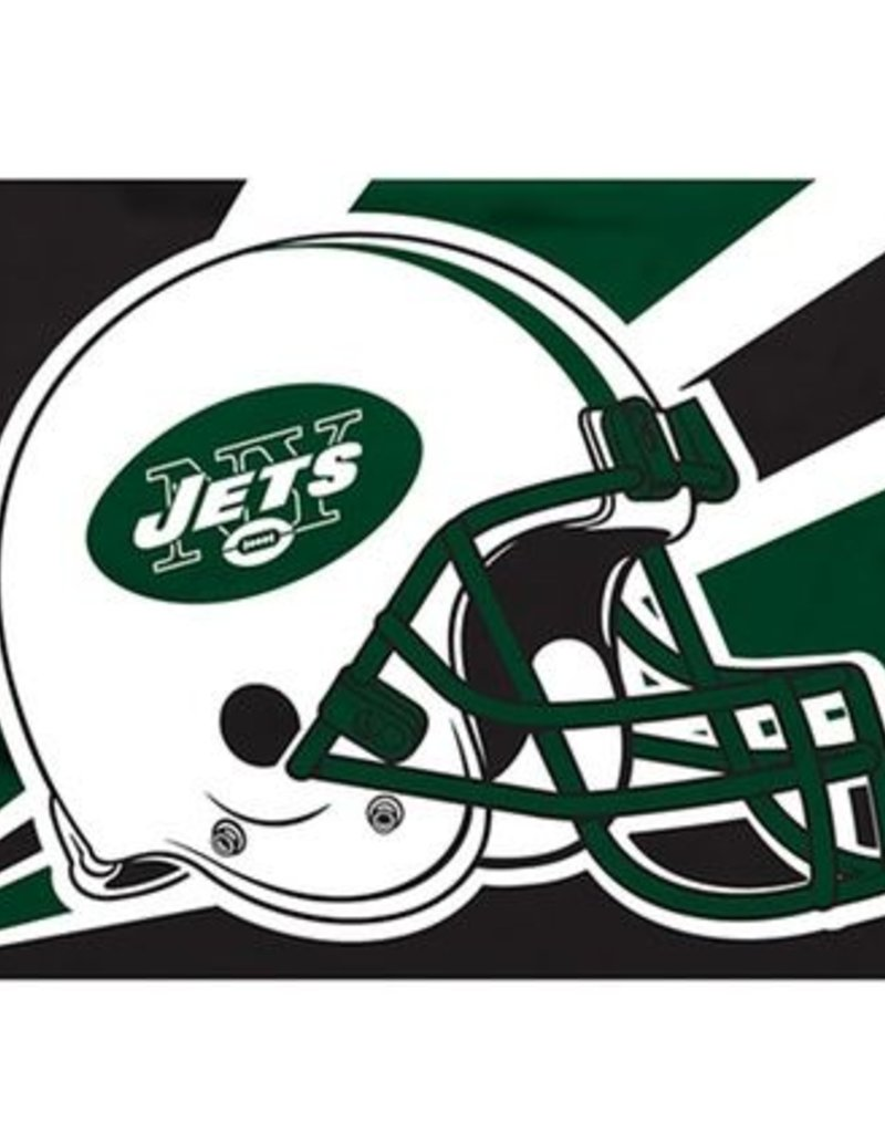 official photos 77fd1 f4a04 New York Jets 3x5' Polyester Flag