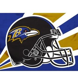Baltimore Ravens 3x5' Polyester Flag