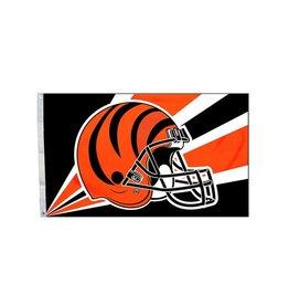 Cincinnati Bengals 3x5' Polyester Flag