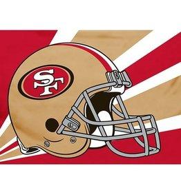 San Francisco 49ers 3x5' Polyester Flag