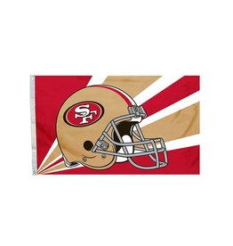 San Francisco 49ers 3x5' Polyester Flag