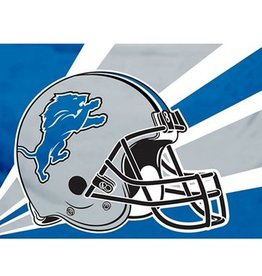 Detriot Lions 3x5' Polyester Flag
