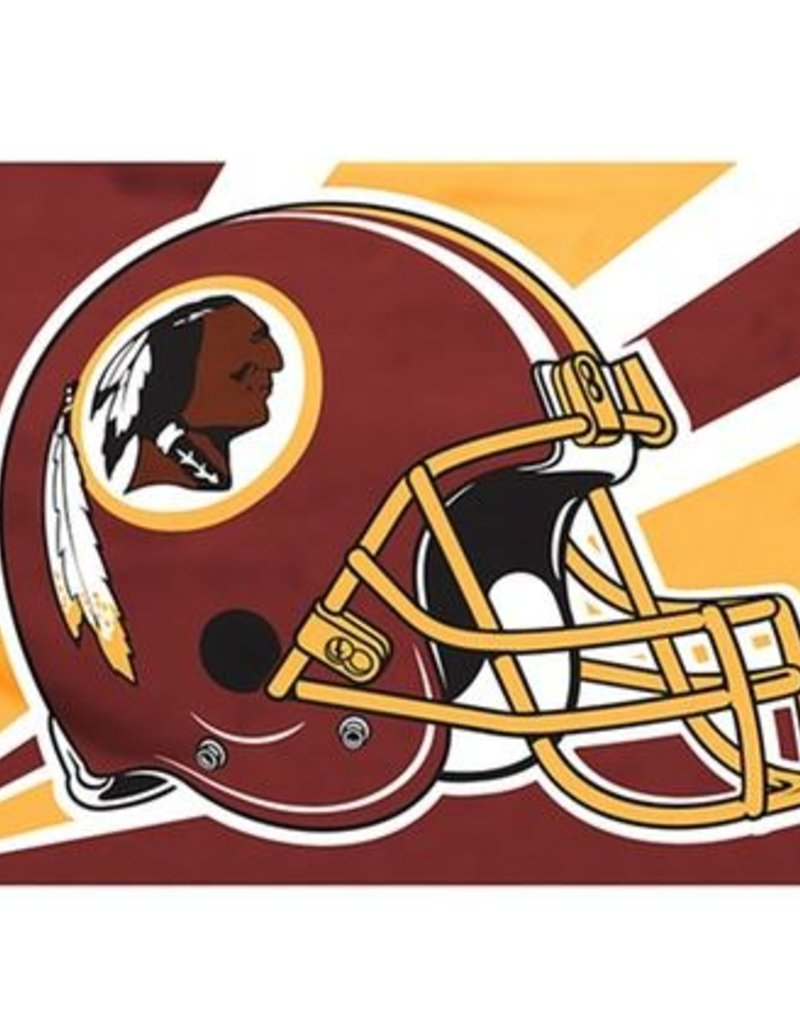 Washington Redskins 3x5' Polyester Flag