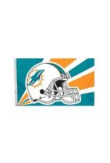 Miami Dolphins 3x5' Polyester Flag