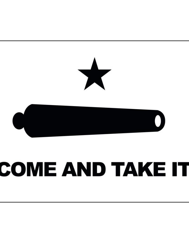 Come and Take It Historical (Gonzales Banner of 1835) Nylon Flag