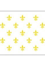 Fleur-De-Lis (White-23) Historical Nylon Flag