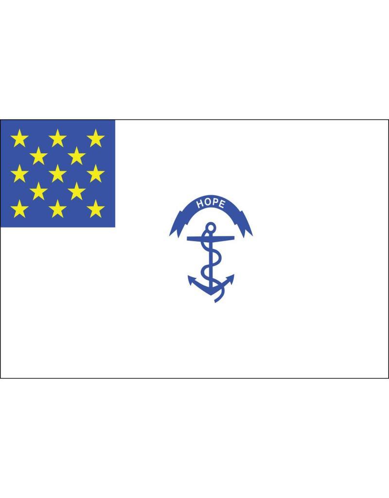 Rhode Island Regiment Historical Nylon Flag 3x5'