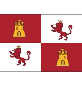 Royal Standard of Spain Historical Nylon Flag 3x5'