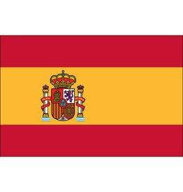 Spain w/ Seal Nylon Flag