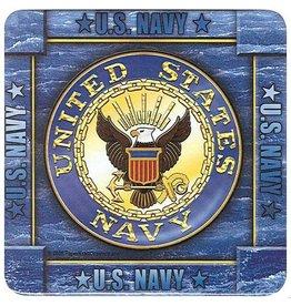 Navy Coasters (8 pk)