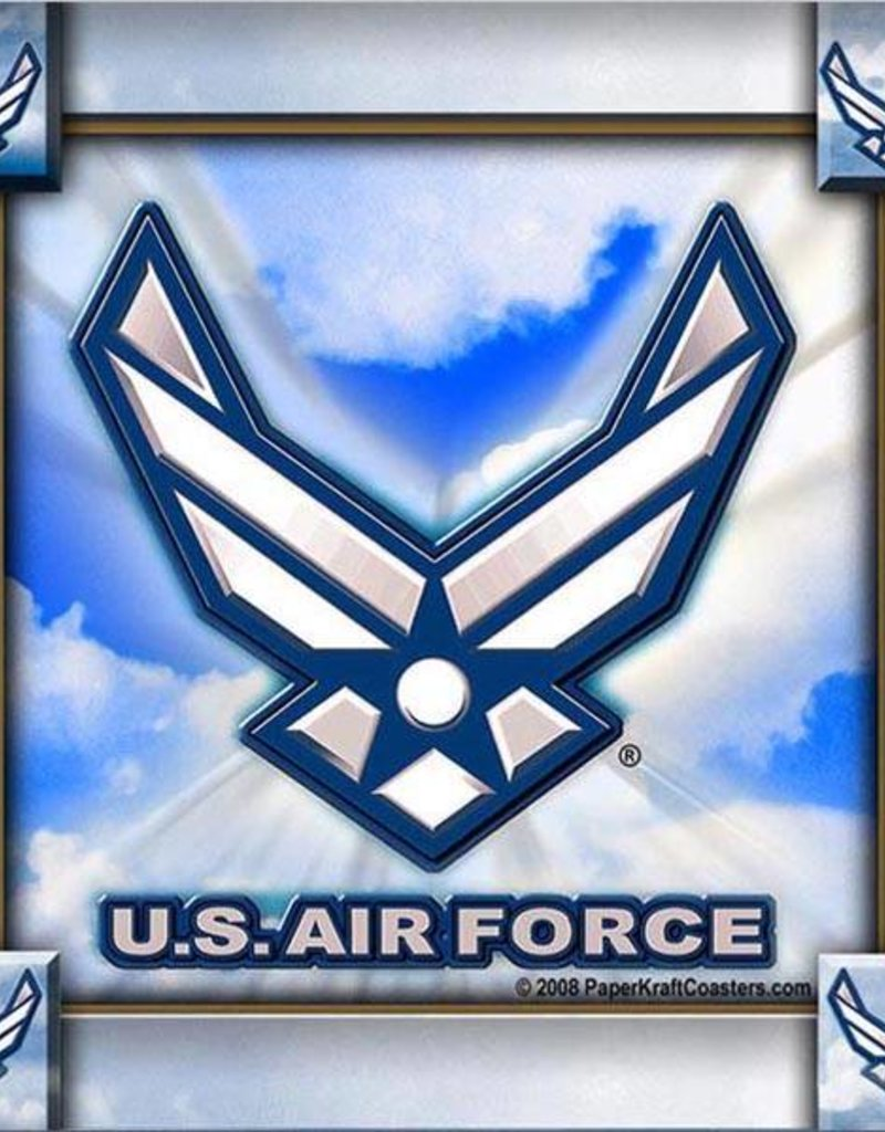 Air Force Coasters (8 pk)
