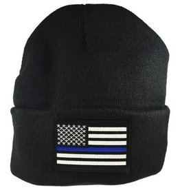 Thin Blue Line Watch Cap