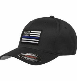 Thin Blue Line Baseball Flex Fit Cap