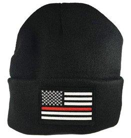 Thin Blue Line USA Thin Red Line Watch Cap