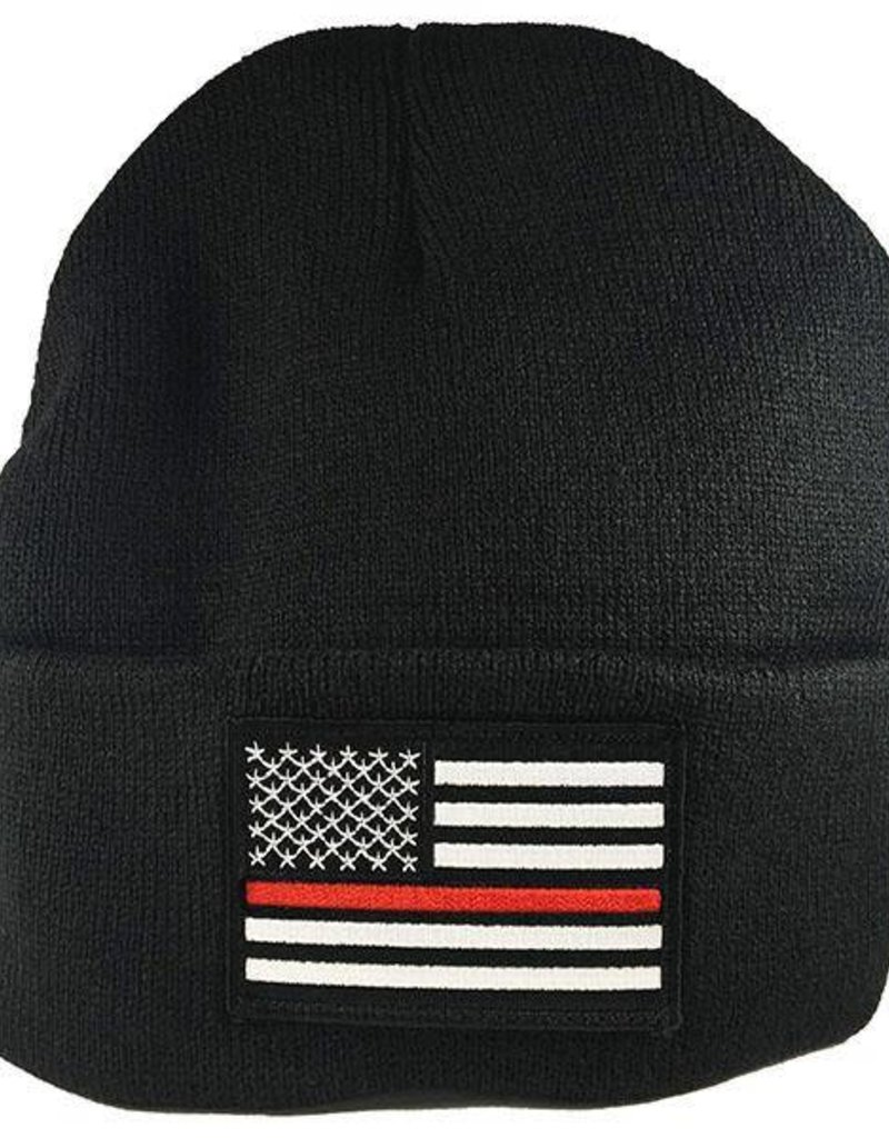 Thin Red Line Watch Cap