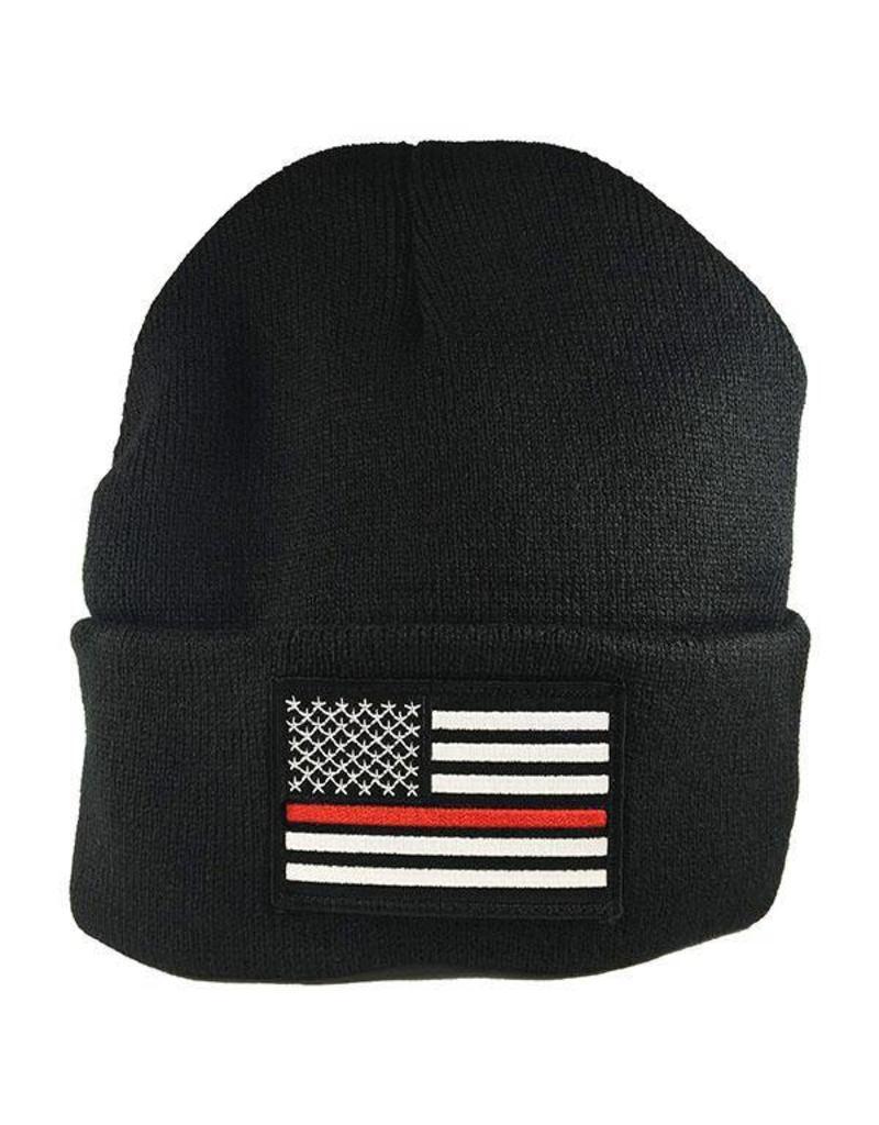 Thin Red Line Watch Cap