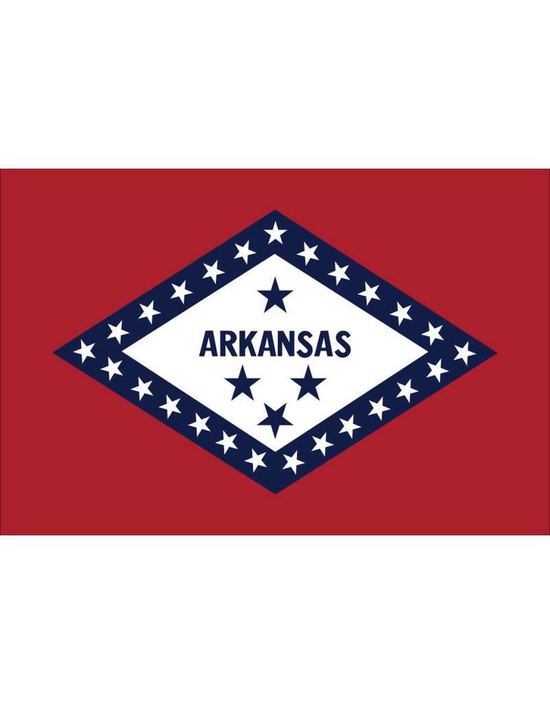 Arkansas Nylon Flag