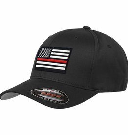 Thin Red Line Flex Fit Baseball Cap