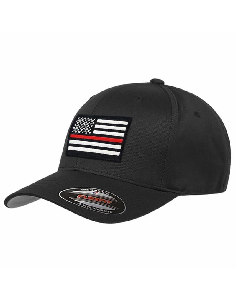 c812df40421 Thin Red Line Flex Fit Baseball Cap - Stars   Stripes