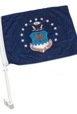 Air Force Auto Window Flag