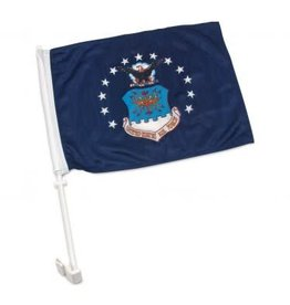 Air Force Auto Window Flag