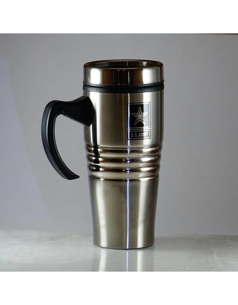 Army Stainless Steel 16 oz Travel Mug