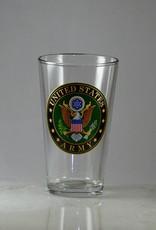 Army 16 oz Glass