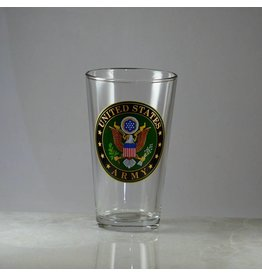 Army 16 oz Glass