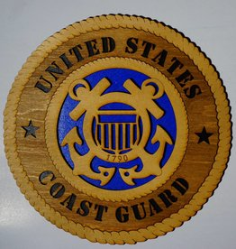 U.S. Coast Guard SM Plaque Locally Made