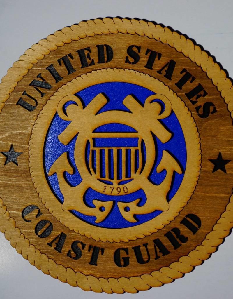 U.S. Coast Guard SM Plaque Locally Made