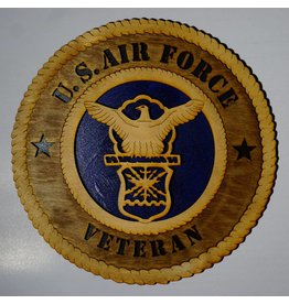 Air Force Veteran Wooden Plaque