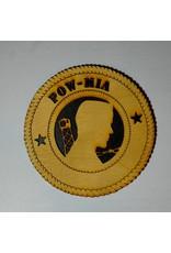 Locally Made POW/MIA (2 Stars) SM Plaque