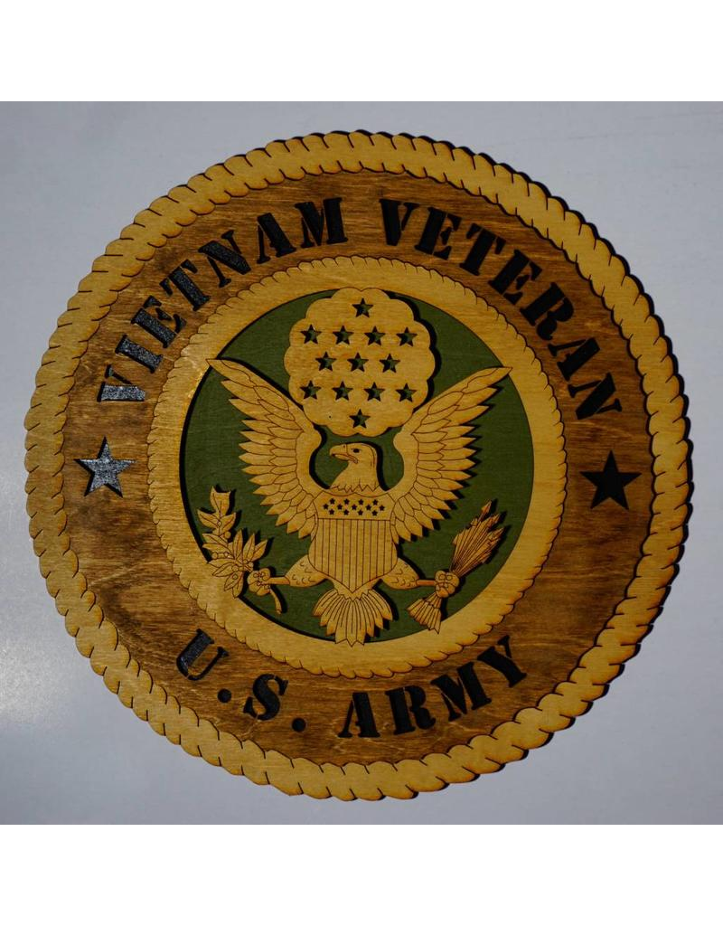 Army Vietnam Veteran Plaque