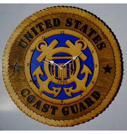 "Coast Guard 12"" Clock"