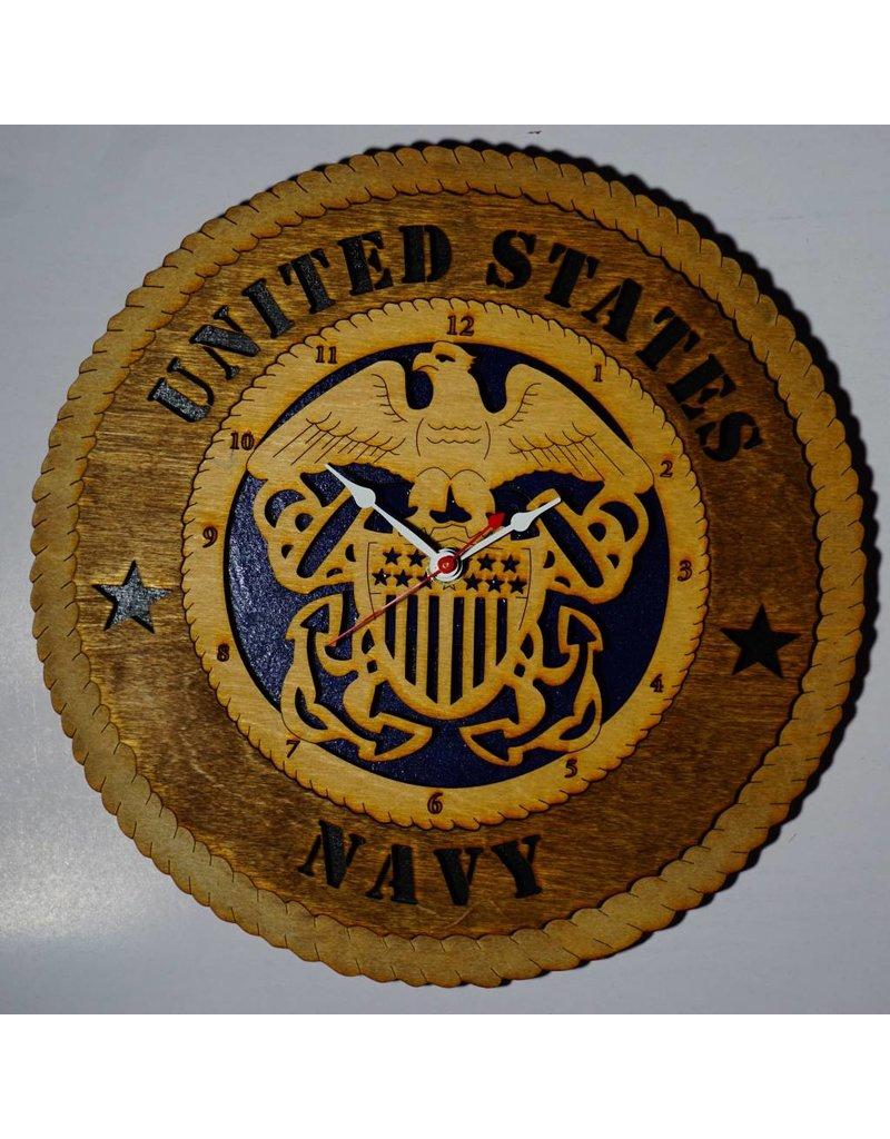 "Navy Clock 12"""