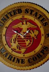 Marine Corps Clock Locally Made