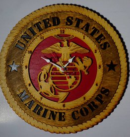 Marine Corps Clock Locally Made