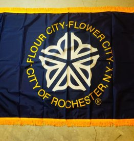 City of Rochester Nylon Crown Flag