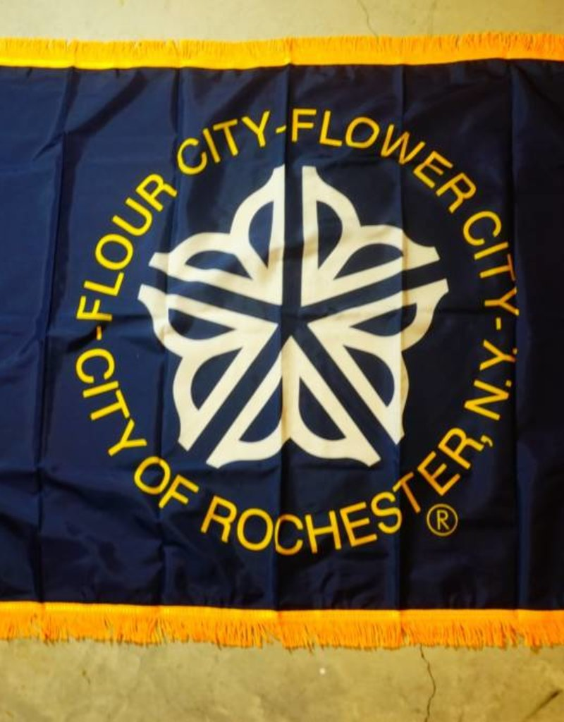 City of Rochester Nylon Crown Flag