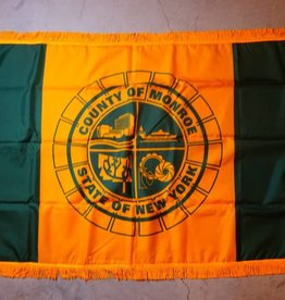 Monroe County Nylon Crown Flag
