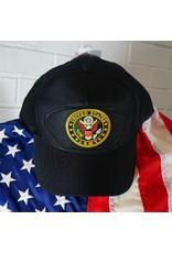 Army Emblematic Baseball Cap (BLK)
