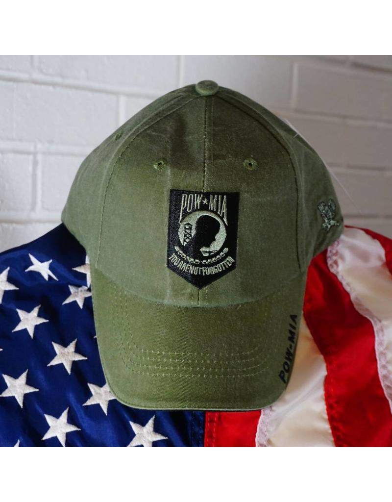 POW MIA Baseball Cap (OD Green) - Stars   Stripes 7891bb14f99c