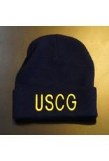 Navy Blue USCG Watch Cap