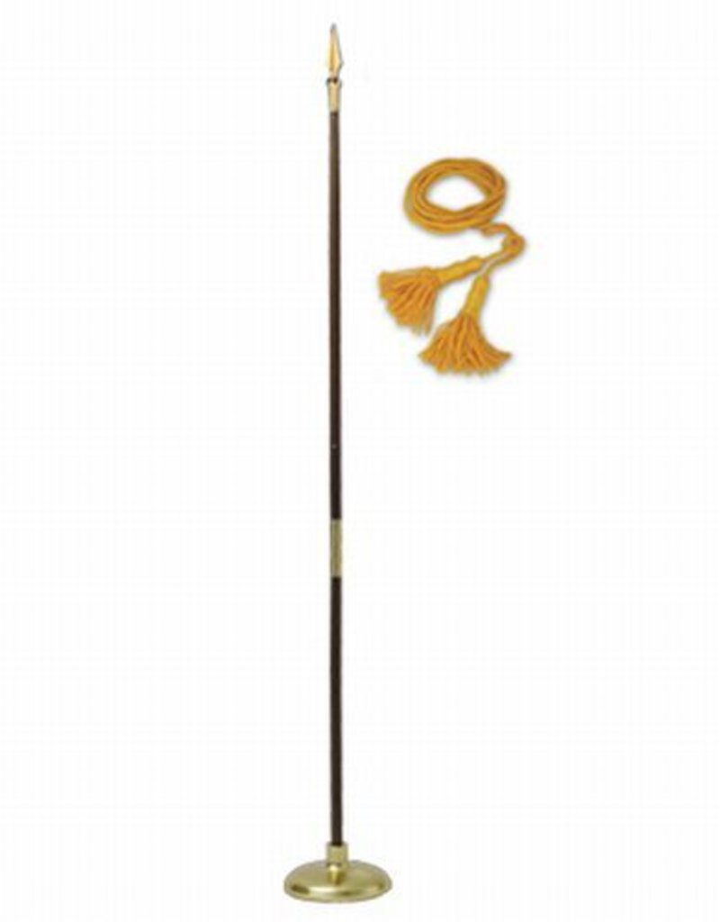 Flag Set ACC  8 ft Pole with Spear No Flag
