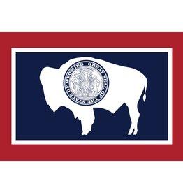 Wyoming Nylon Flag