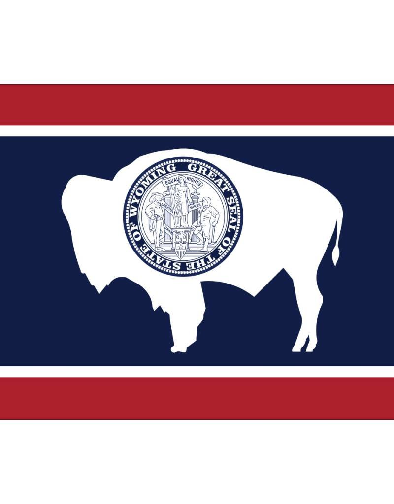 Wyoming Nylon Flag