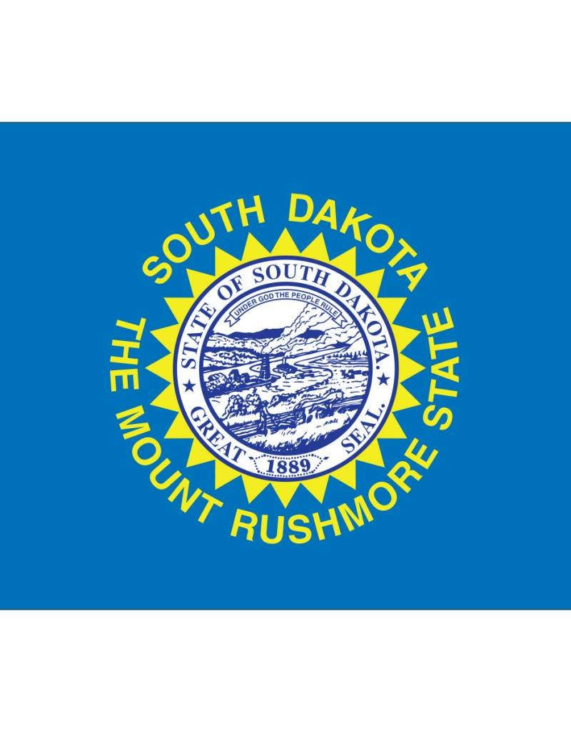 South Dakota Nylon Flag