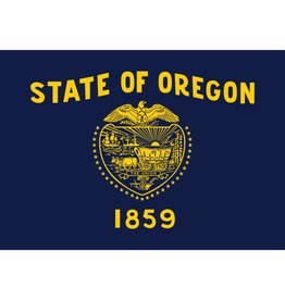 Oregon Nylon Flag