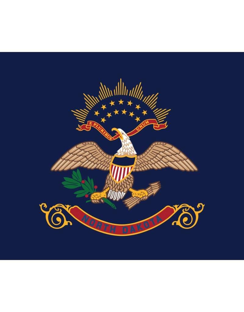 North Dakota Nylon Flag